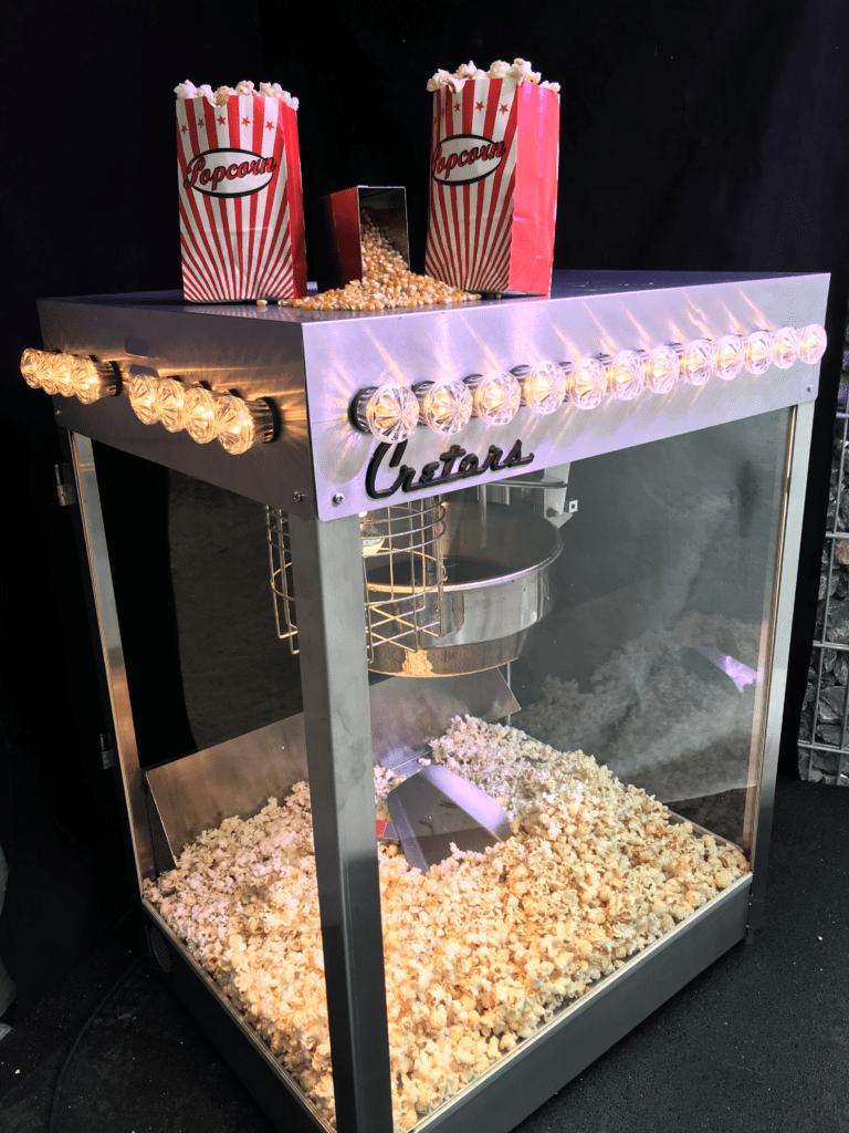 Popcornmaschine mieten Basis