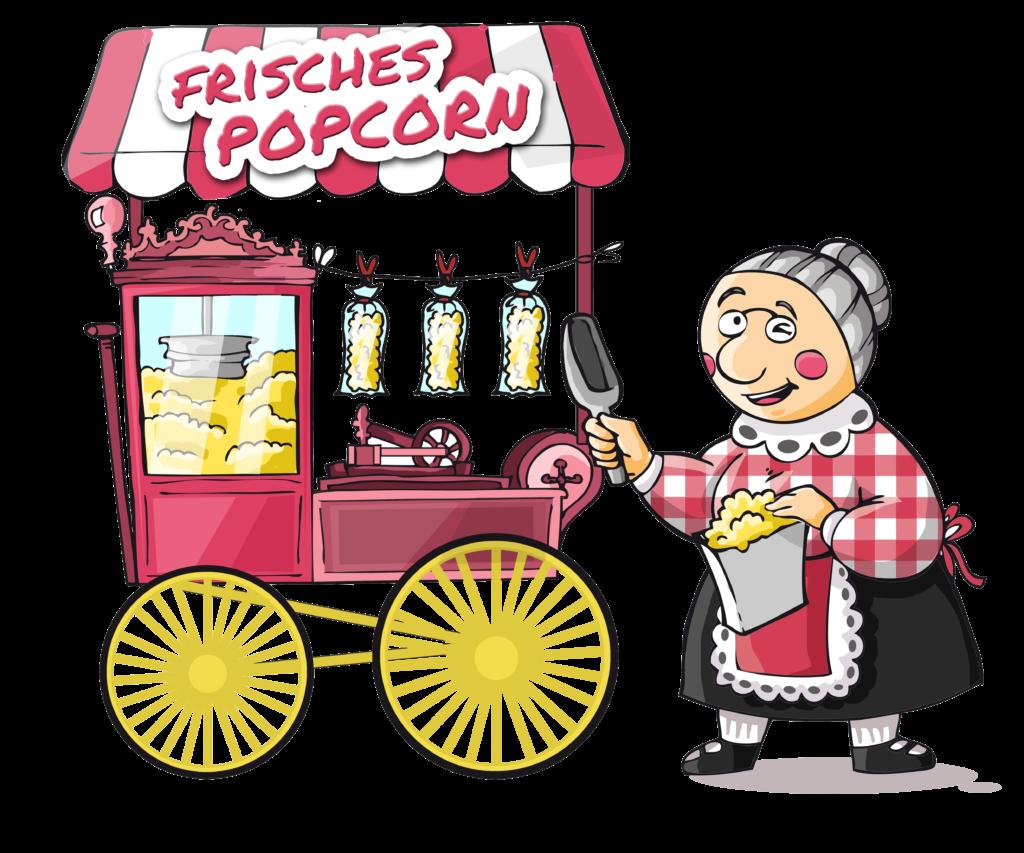 Popcornmaschine mieten Hildesheim Hannover Braunschweig Salzgitter