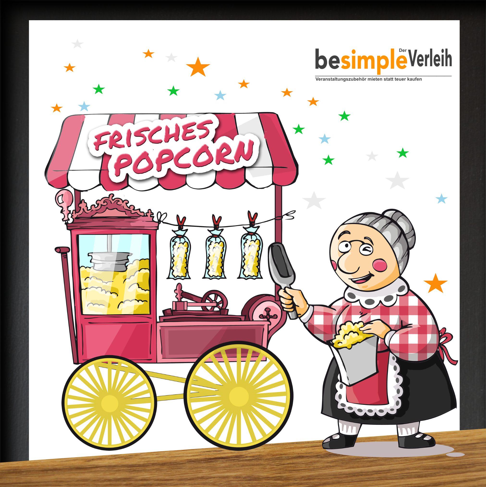Popcornmaschine mieten Hildesheim Hannover Salzgitter Braunschweig